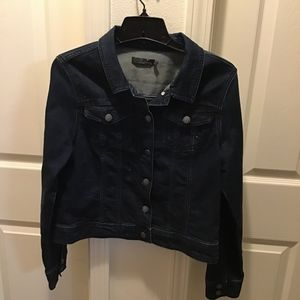 PRANA DENIM CROP JACKET